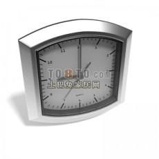 壁挂钟表饰品3d模型下载