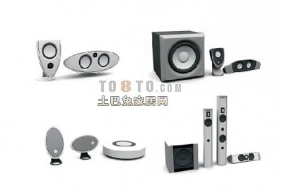 音箱3D模型