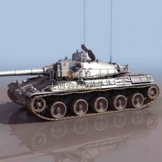 坦克兵器素材133d模型下载