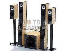 电器-影碟机-音箱40套3d模型下载