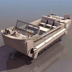 兵器-装甲车4套3d模型下载