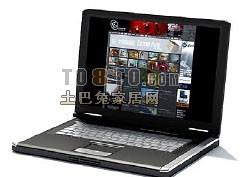 笔记本电脑3d模型下载