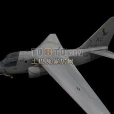 战斗机-飞机素材103d模型下载