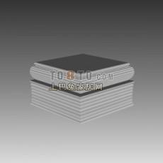 欧式构件3d模型下载
