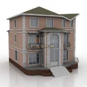 建筑3d模型场景下载