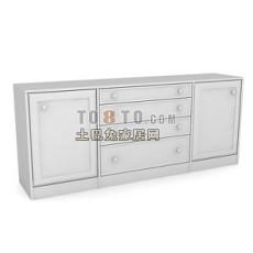 办公柜-文件柜3-5套3d模型下载
