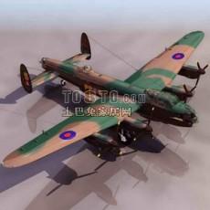 战斗机-飞机素材133d模型下载