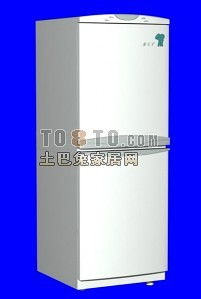tcl冰箱3d模型下载