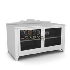 办公柜-文件柜13-5套3d模型下载