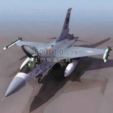 飞机-战斗机免费3d模型下载
