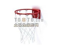 篮球筐1-体育用品素材3d模型下载