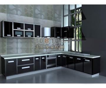 厨房3D模型下载19