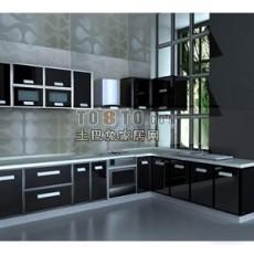 厨房193d模型下载