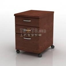 办公家具-文件柜15套3d模型下载