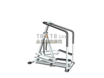 室内健身器材3D模型3-5套
