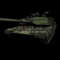 坦克兵器素材183d模型下载