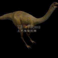 恐龙-动物523d模型下载