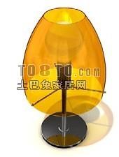 烛台灯3d模型下载