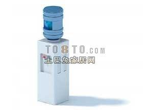 办公用品-饮水机7套3d模型下载