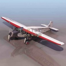 飞机-小型飞机24套3d模型下载