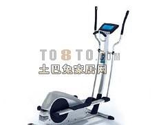 跑步机健身器材14-体育用品素材3d模型下载