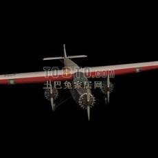 战斗机3d模型下载