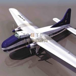 3D小型飞机模型