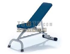 3D体育健身器材模型-仰卧起坐9套
