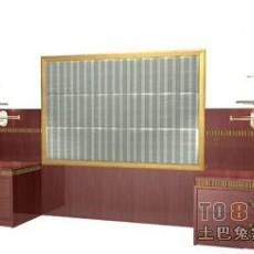 宾馆家具3d模型下载
