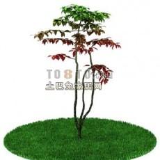 室外植物树3d模型下载
