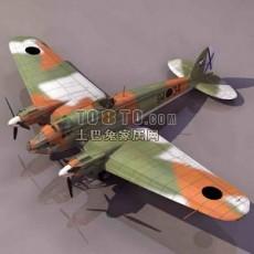 飞机战机3d模型下载