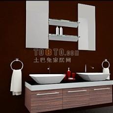 洗面盆3d模型下载