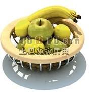 水果食品3d模型下载