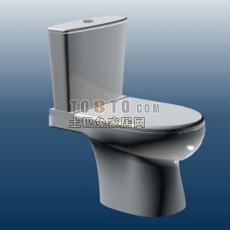 马桶3d模型下载