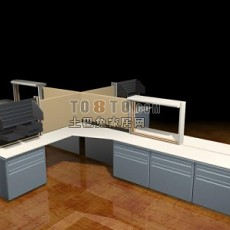 工作单元3d模型下载