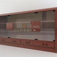 中式长柜子3d模型下载