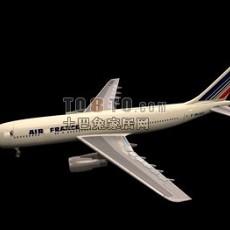霍克飞机3d模型下载