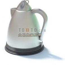 热水壶3d模型下载