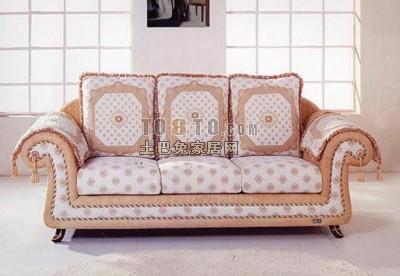 3d欧式沙发模型下载