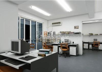 办公室3D模型下载7