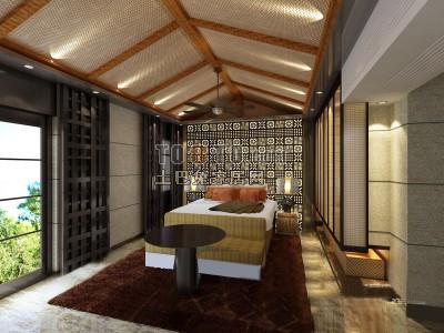 中式整套卧室3D模型