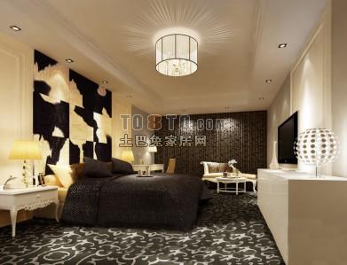 整套欧式卧室3D模型42