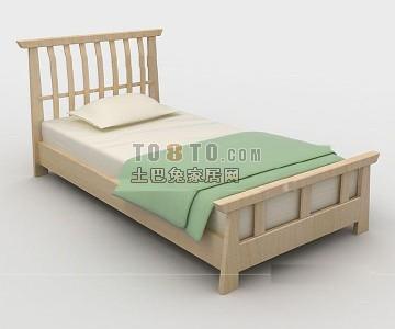 单人儿童床