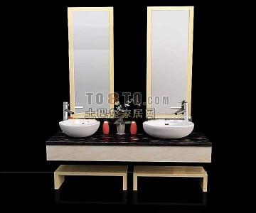 卫浴3d模型免费下载