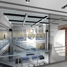 梯堂家具展厅设计3d模型下载