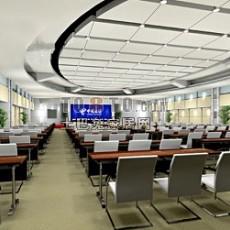 电信企业展厅设计3d模型下载