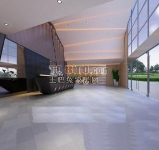 小型展厅3d模型
