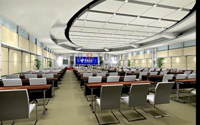 电信会议厅3D模型下载