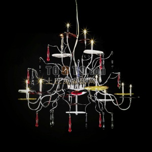 欧式餐厅吊灯模型下载