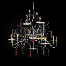 欧式餐厅吊灯3d模型下载